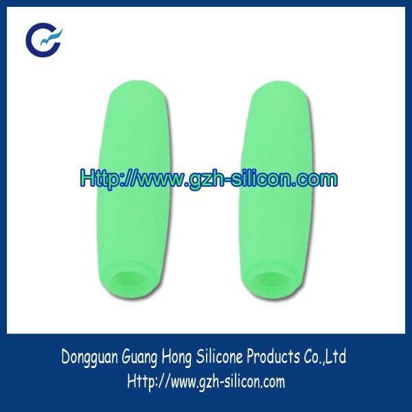 Custom silicone rubber handle grip cover for jump rope