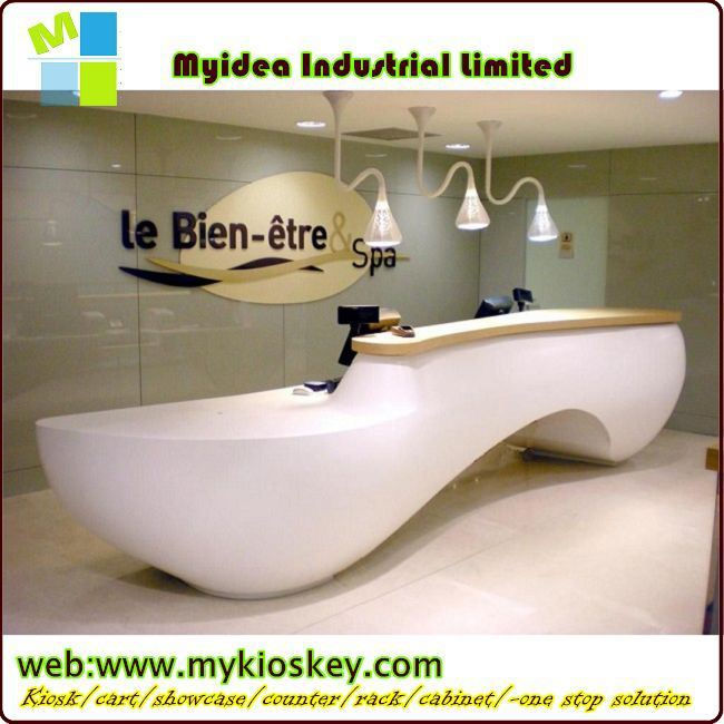 2015 Made in China hot sale reception desk,/commercial bar counters design/reception desk with 3D MAX