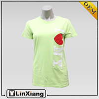 Best quality couple t-shirt wholesale cheap