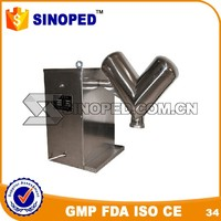 New design introduction mixing of food powder v mixer machine for sale