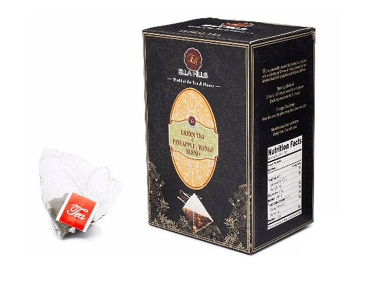Natural & Organic Kosher Original Ella Hills Green Tea with Pineapple and Mango Blend Tea