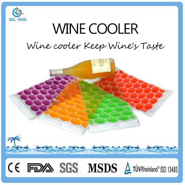 Promotional Items For 2017 Alibaba Supplier Hot Sale Customized Neoprene Wine Bottle Gel Cooler Bags