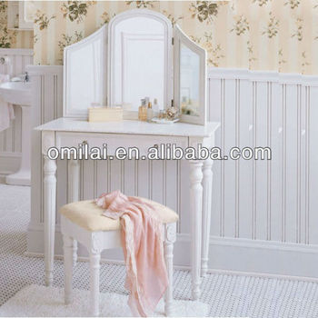 vanity dressing table with stool