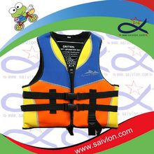 Top grade classical thin blue mesh inner fishing life vest