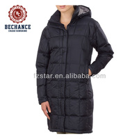 AD2805 women winter hooded long padded coats