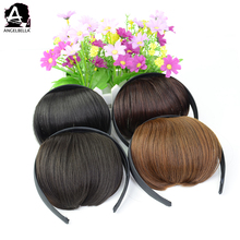 Angelbella Synthetic Hair Straight Fringe With Hoop Short Neat Bangs For Gifts