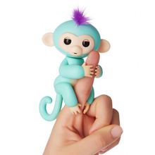 Shenzhen Factory Wholesale blue Boris fingerlings monkey for kids