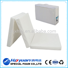 rolling packing 3d mesh fabric cooling mattress