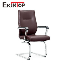 Swivel black used industrial leather sled rocker vip plastic recliner chrome ofice chair