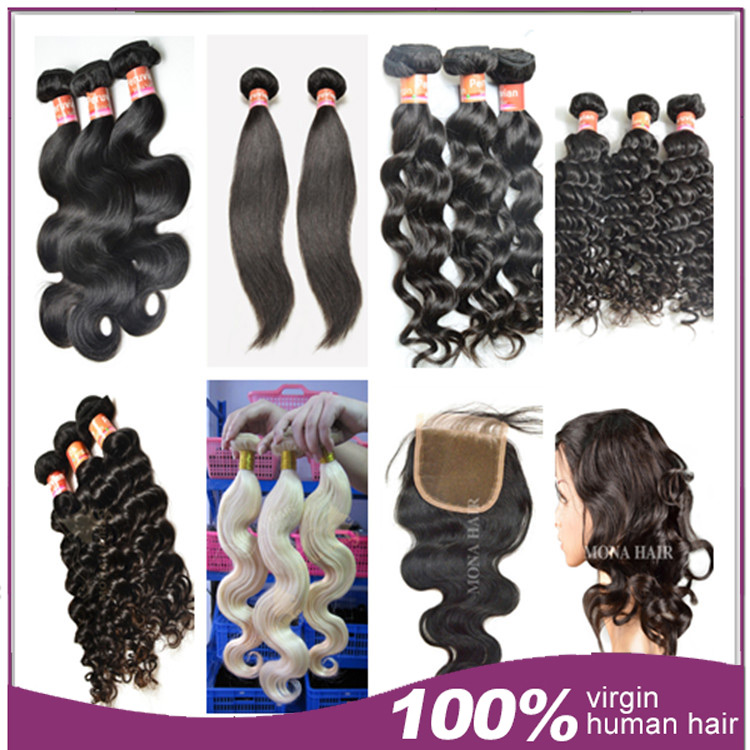 Fast selling products in south africa virgin hair 7a grade 100% human hair extension and wigs wholesale