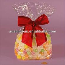 Bulk wholesale cheap price cellophane gift bags opp bag for sugar