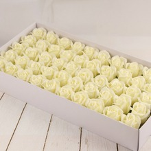 wholesale artificial flower perfumed hand carving soap flower rose for sale for wedding and valentine Gift