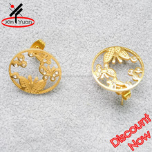 gold body jewelry butterfly fantasy earring wholesale