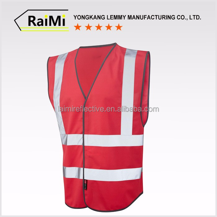 Hot selling eco-friendly custom safety vest vendor