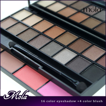 Cosmetics manufacturing companies brand name cosmetics 24 color eyeshadows makeup set