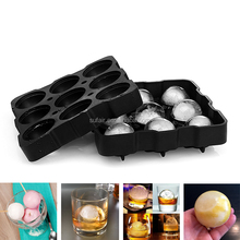 amazon best sellers 9 balls sphere shape silicon ice ball maker mold