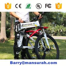 Solar Power Supply and Brushless Motor electric bicycle