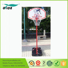 Good price best quality height adjustable movable portable 9' basketball stand for outdoor training