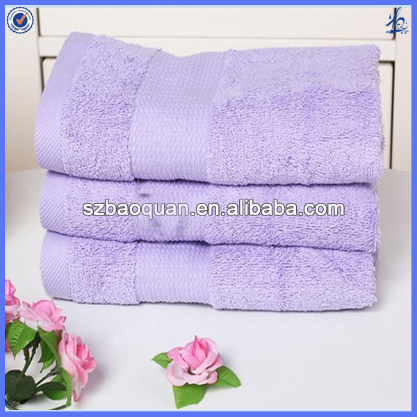 terry towel with dobby border for hotwel dobby towel set