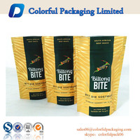 Food grade bag beef jerky packaging bags