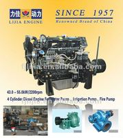 Factory Direct !!! 4 Cylinder Stationary Power Water Pump Diesel New 4 Stroke Engine