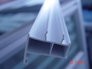 pvc window frame extrusion