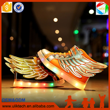 fashionable LED shoe hot selling in China factory supply directly boutique kid shoe