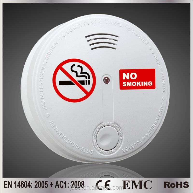 China product ! high sensitive stand-alone cigarette smoke detector with CE&Rohs