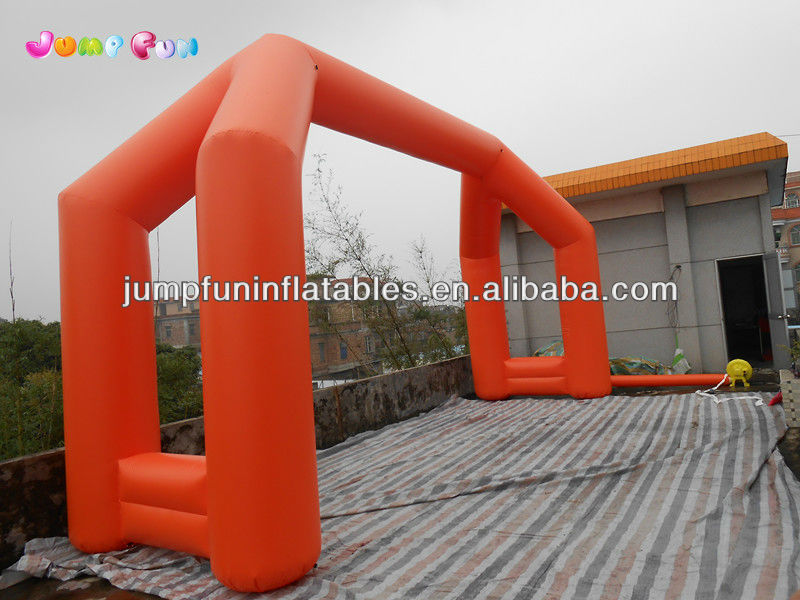 pvc vinyl arch/advertising inflatable archway