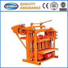 high quality paver brick block making machine with plastic pallets