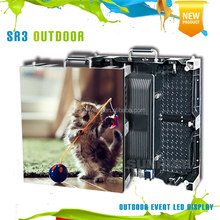 P3.91 smd outdoor die-cast aluminum led display screen led video wall panel for rental sale show