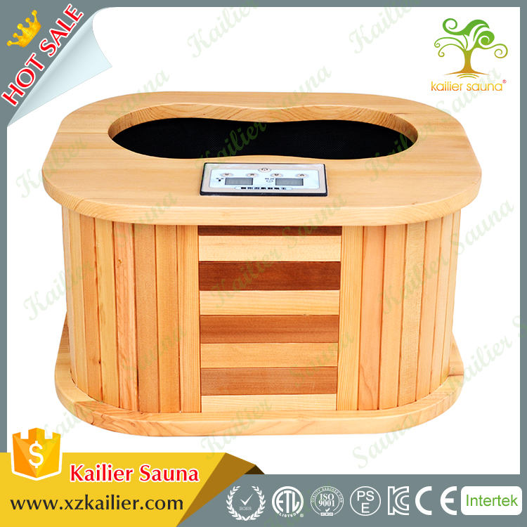 1 person 2017 wooden foot sauna foot massager