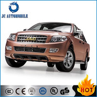 Chinese JAC 4X4 double cabin real time pickup truck for sale