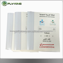 A4 pp &pvc design executive pocket file medical record folder,hospital file folder