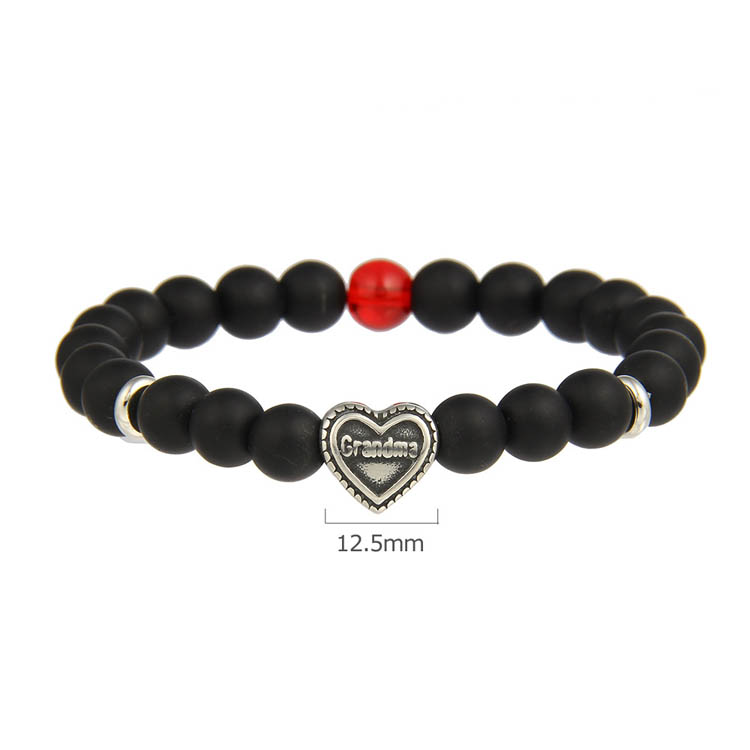 Cheap Wholesale Handmade Charms Jewelry Family Gifts Women Natural Stone Beads Bracelets Mother and Daughter Bracelet