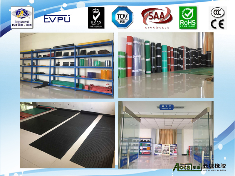 high quality 4mm thick Viton rubber sheet rubber products