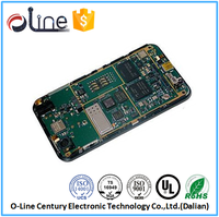 high speed FR4 0.8t HASL cell phone pcb motherboard