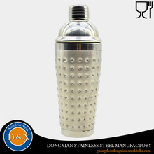 500ml stainless steel 304 hammered cocktail shaker