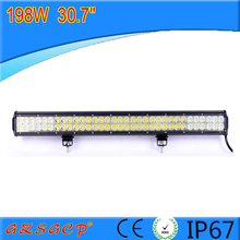198w 12v waterproof led light bar,led atv light bar waterproof,12v underwater waterproof led light bar 5050