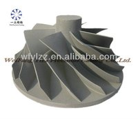 Aluminum alloy compressor impeller used for daihatsu diesel engine spare parts