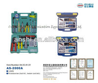 ANSHI Professional Network Ratchet Crimping Tool Kits
