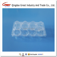 Embossing Egg Plastic Tray