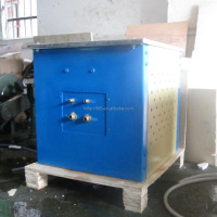 induction melting furnace price: 50KG small melting furnace for sale