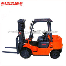 China Factory View Mast 3m 2 Ton ISUZU Engine Diesel Forklift For Sale