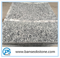 Spray white granite tiles for exterior wall panels, high white granite with own factory