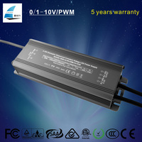 0-10v pwm 80w constant voltage dimmable led power supply with flicker free noise free