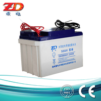 High capacity Solar colloid storage battery 12V50AH