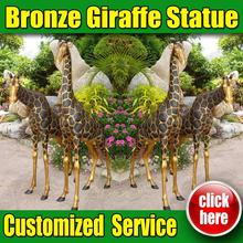 Hot Sale Christmas Decoration Giraffe with Customized Service