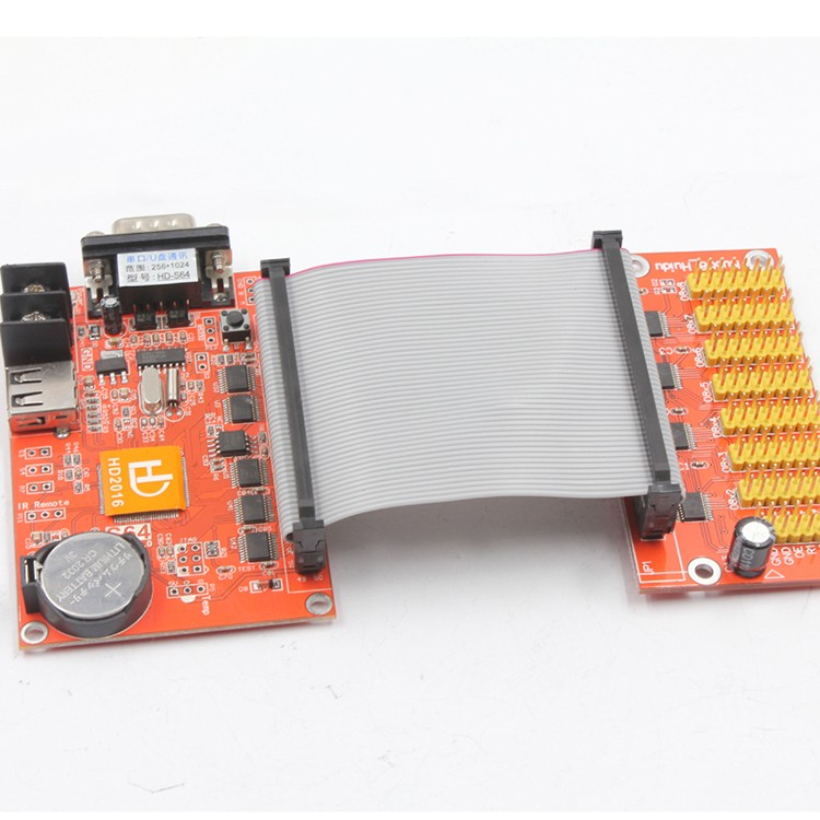 HD-S65 LED controller card serial port 485 communication RS232 communication