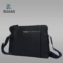 Guangzhou bag factory product fashion men genuine leather bag handbag leather hand bag